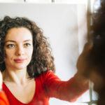 Woman-mirror