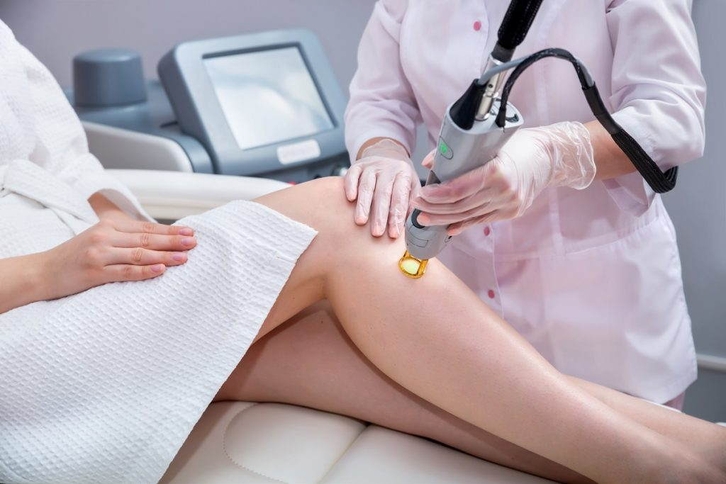 Hair removal for legs