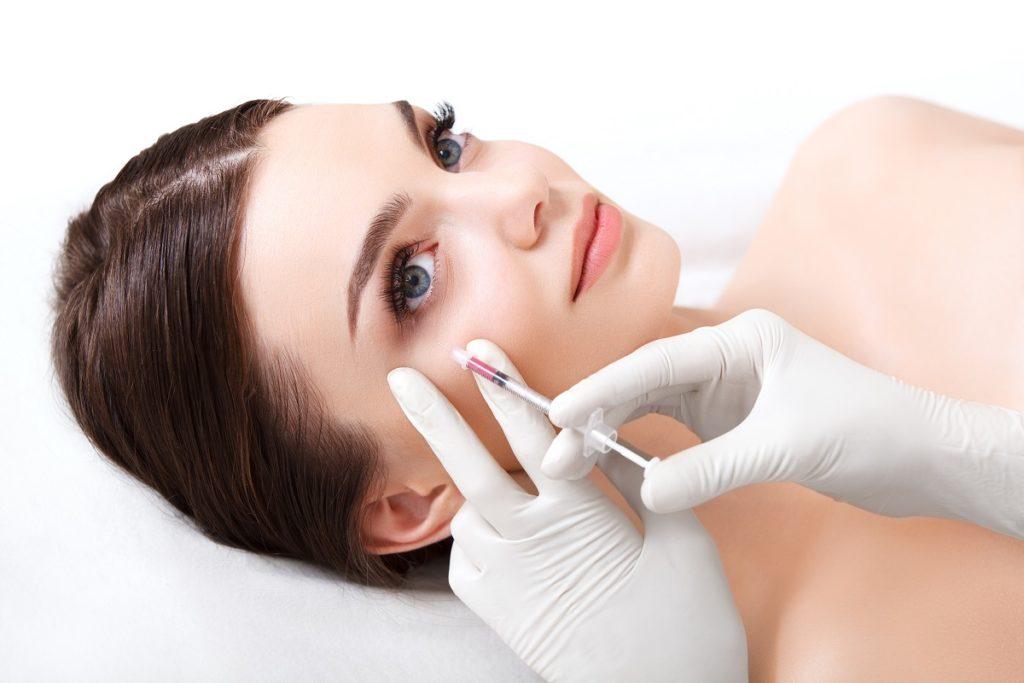 injecting botox
